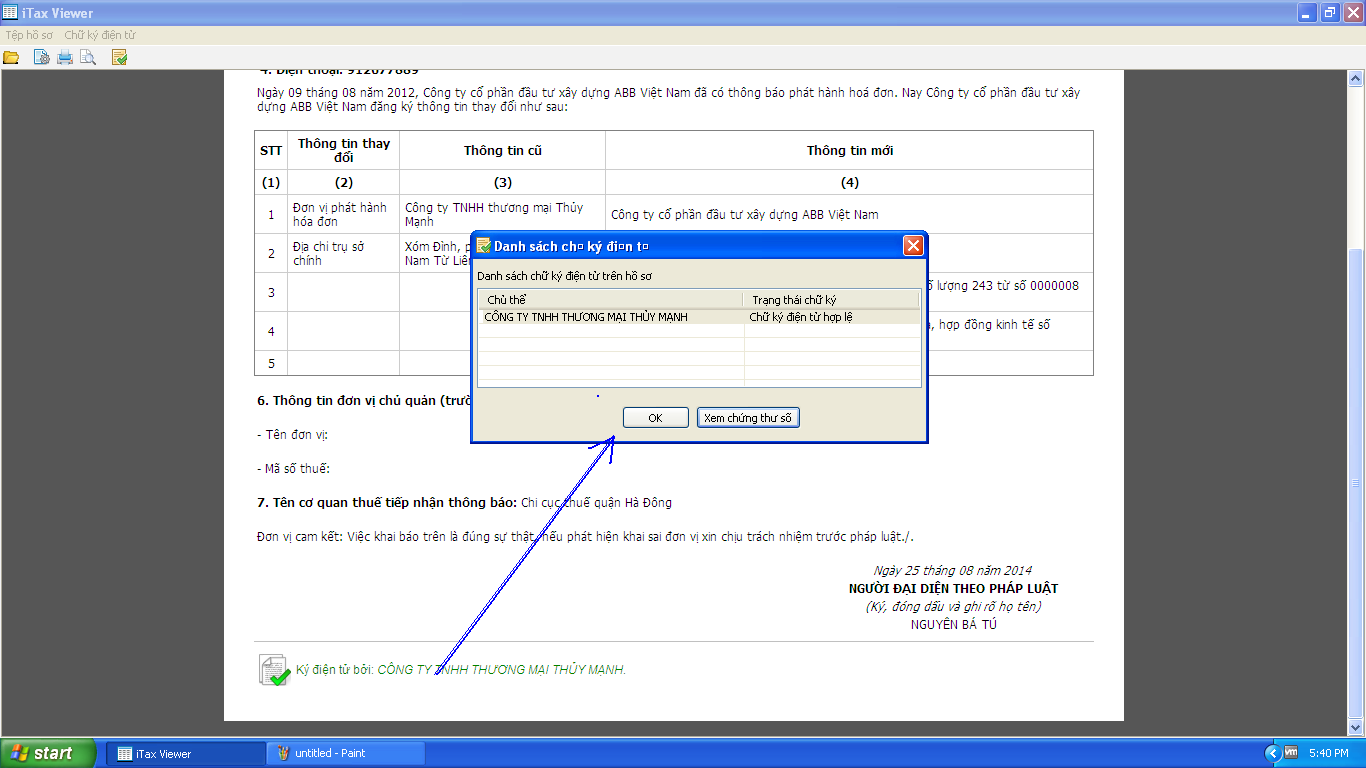 Hướng dẫn nộp tờ khai thuế qua mạng theo định dạng XML