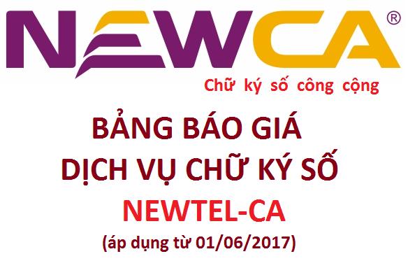 chữ ký số newca