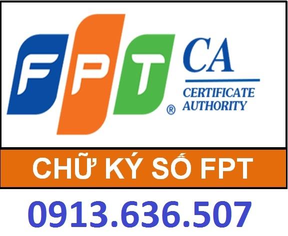 Bảng báo giá cấp mới, gia hạn chữ ký số FPT áp dụng từ 01/10/2017