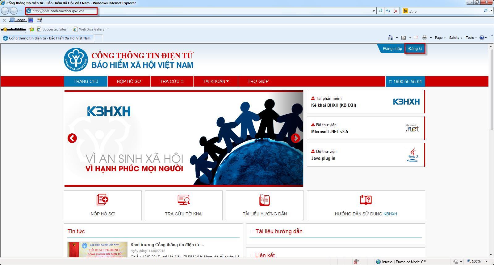 CHUKYSO24H - Bài viết này chúng tôi sẽ hướng dẫn các bạn đăng ký tài khoản  trên hệ thống tiếp nhận tờ khai Bảo Hiểm Xác Hội điện tử của BHXH Việt Nam.