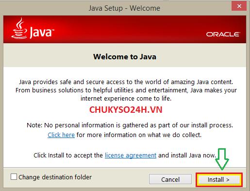 Hướng dẫn download, cài đặt và cấu hình phần mềm Java và Internet