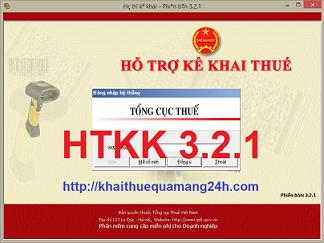 Tổng cục Thuế thông báo V/v nâng cấp ứng dụng Khai thuế qua mạng - iHTKK phiên bản 2.3.1