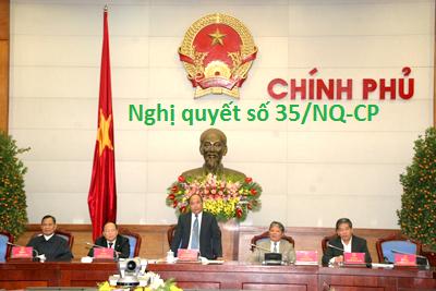 Toàn văn Nghị quyết số 35/NQ-CP của Chính phủ : Về hỗ trợ và phát triển doanh nghiệp đến năm 2020