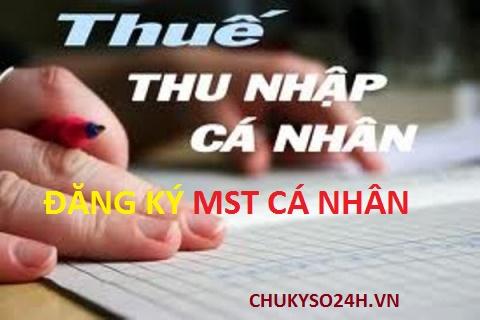 Hướng dẫn đăng ký mã số thuế cá nhân trên phần mềm HTQT TNCN v3.3.0 mới nhất 2016